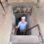 地下トンネルを体験