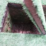 ベトコンの地下活動拠点。直視できません、、、